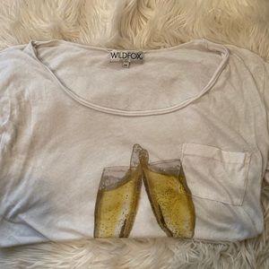 Wildfox Champagne Toast T-shirt
